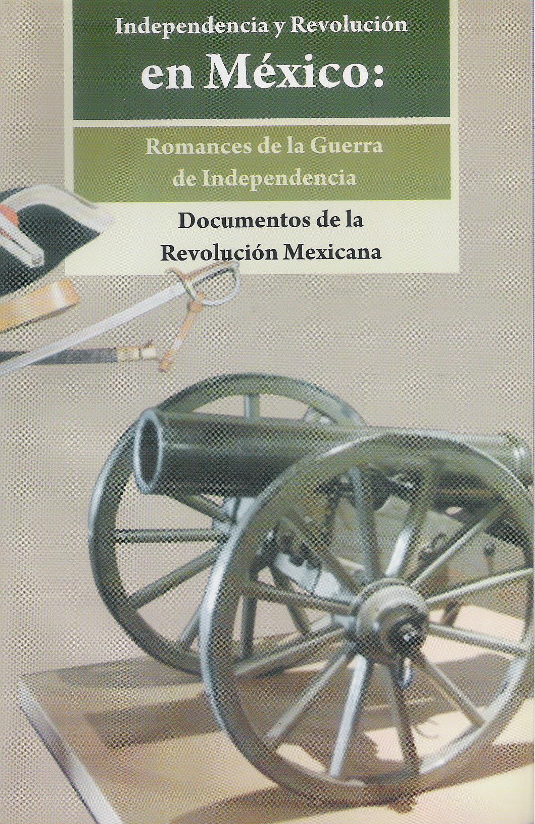 Independencia y Revoluci¢n en M'xico