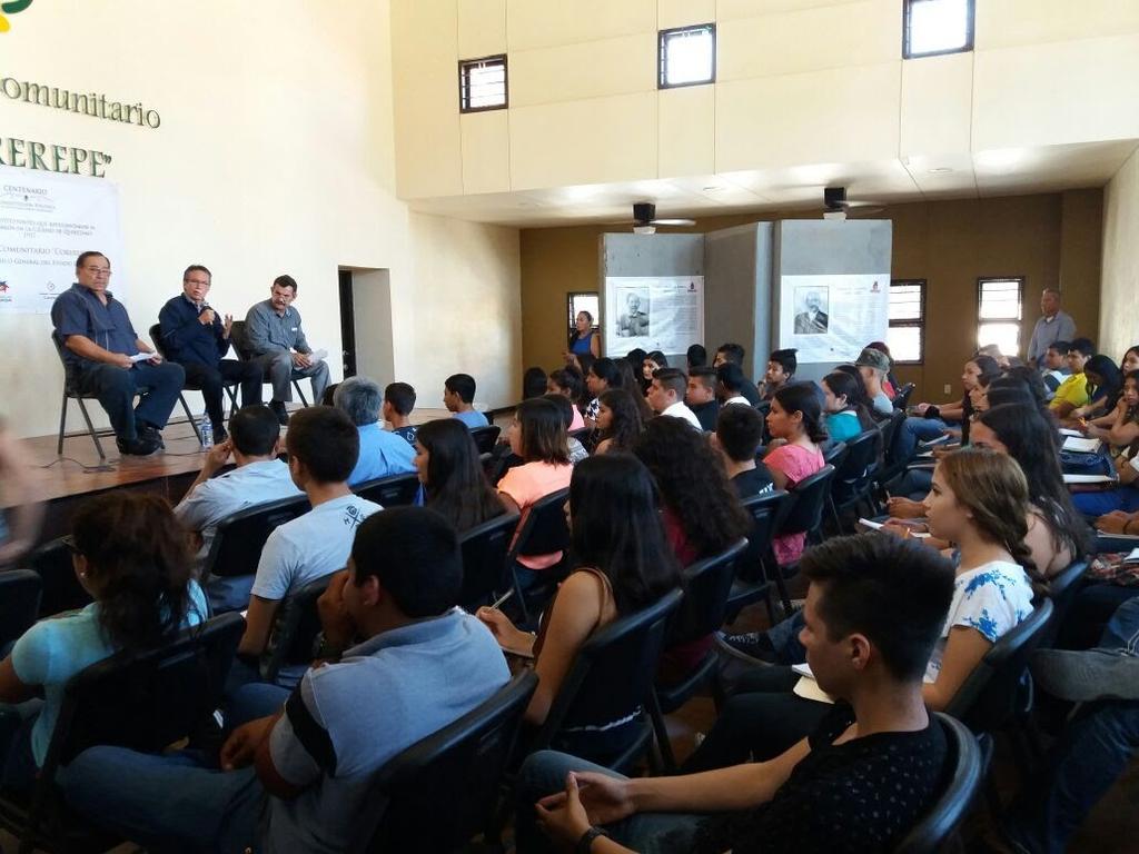 Conferencia en Corerepe
