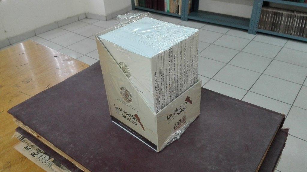 Donativo de Colección Legislativa de Sinaloa