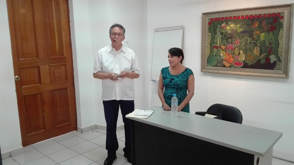 Conferencia Mtra. María del Rosario Heras