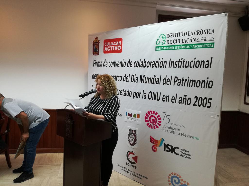 Firma de Convenio de Colaboración Institucional