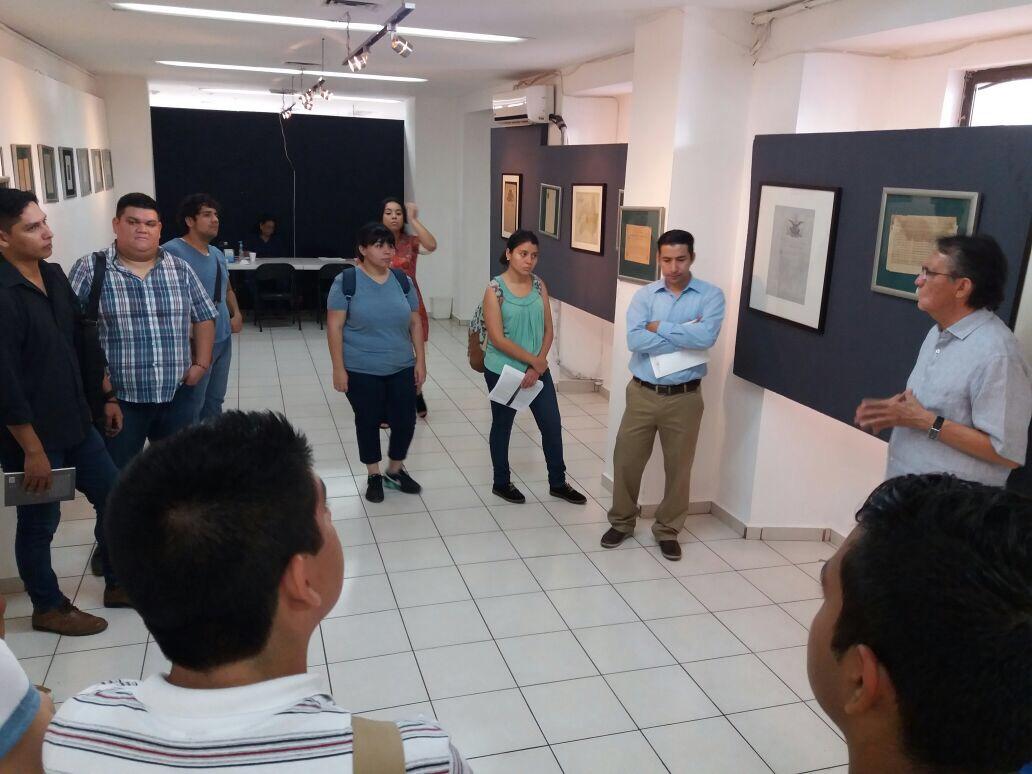 Visita Alumnos Escuela de Historia de la UAS
