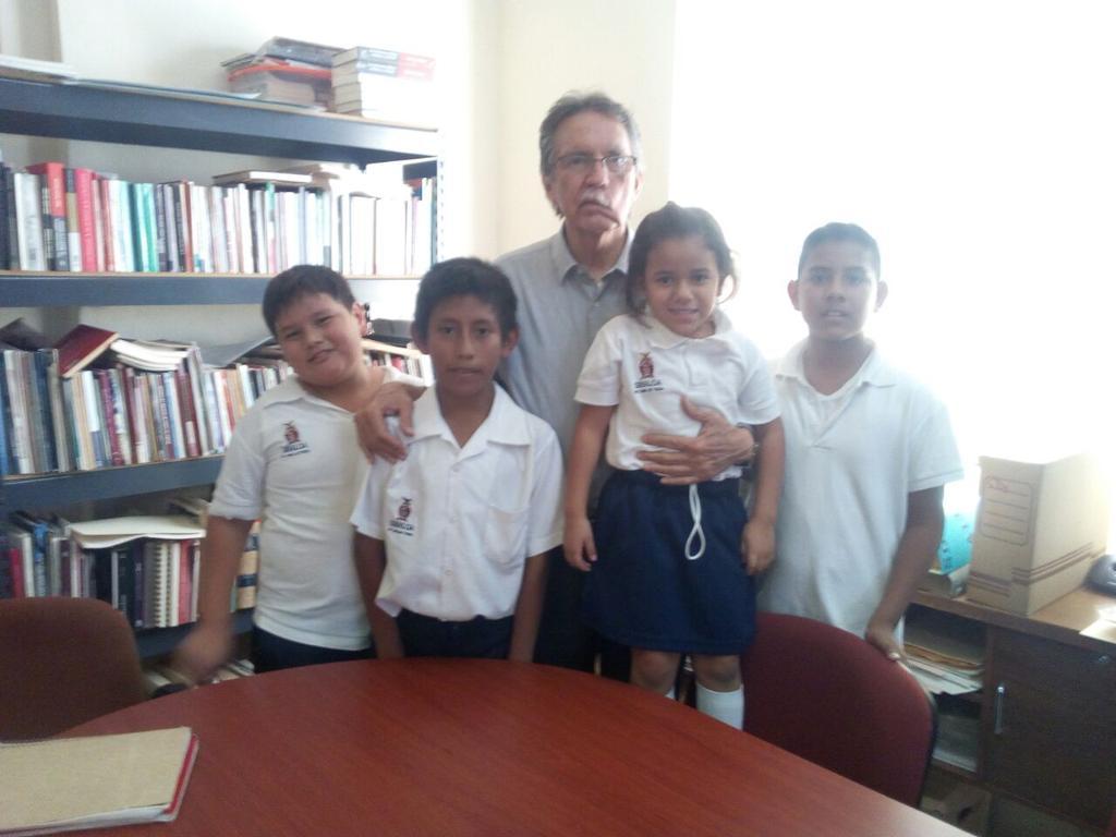 """Visita Alumnos Primaria """"Juan Escutia"""""""